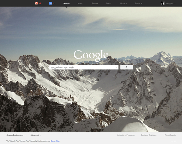 A Clean & Minimal Concept of Google Product Redesign 2