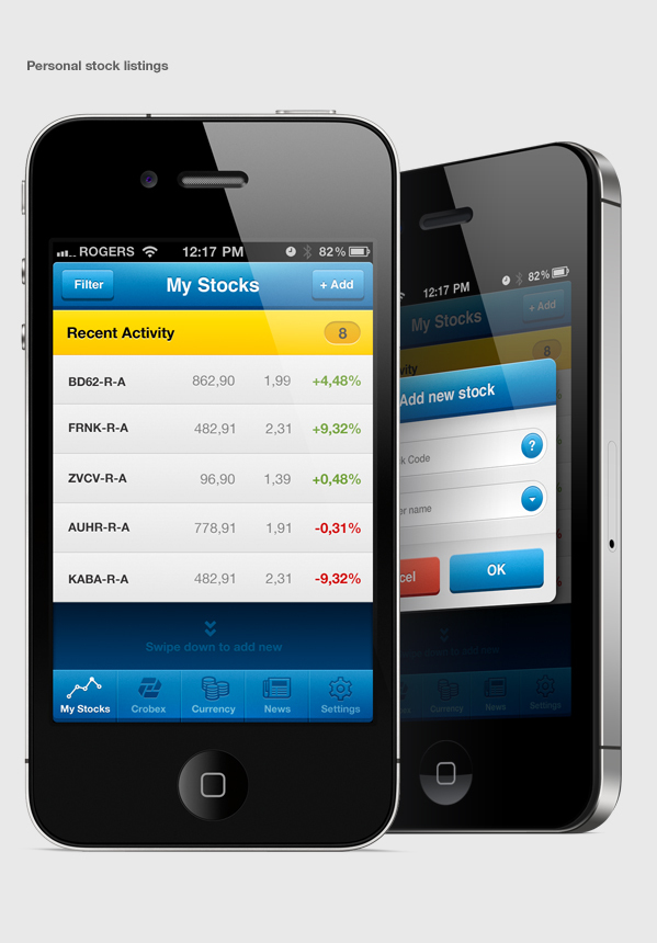 Croatian Market Portfolio iPhone App 4
