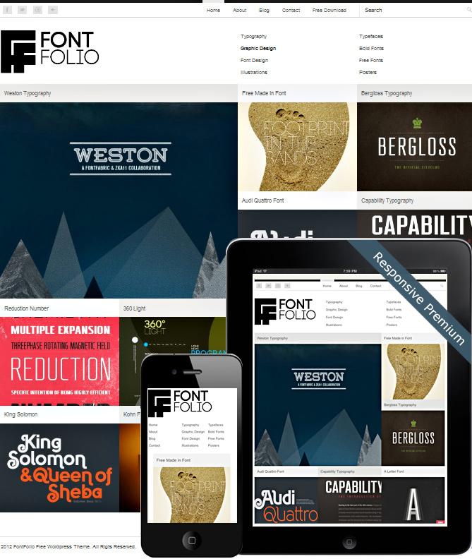 Free Grid Style WordPress Themes 39