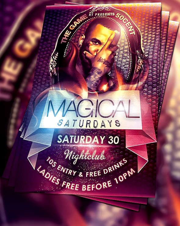 15 Best PSD Party Flyers For Free 7