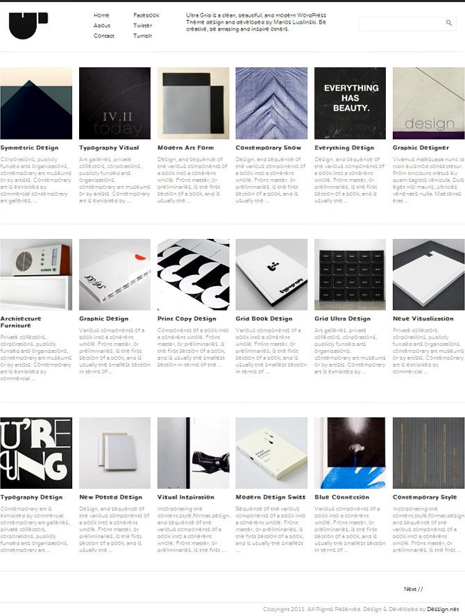 Free Grid Style WordPress Themes 41