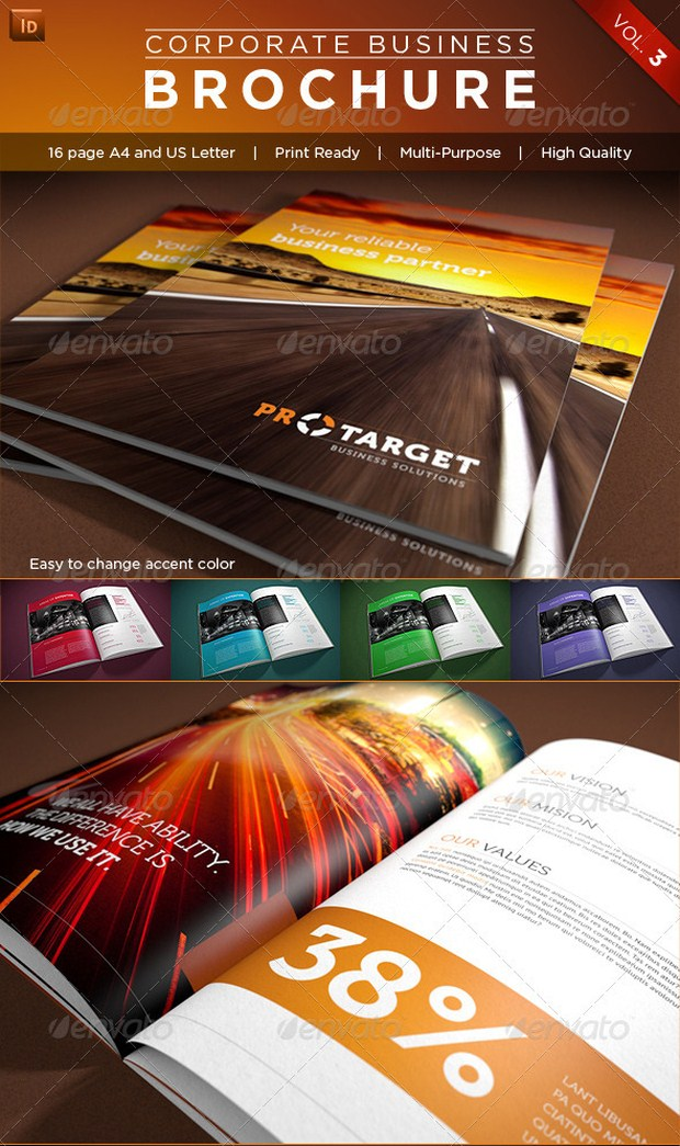 20 Awesome Brochure Designs Inspiration 40