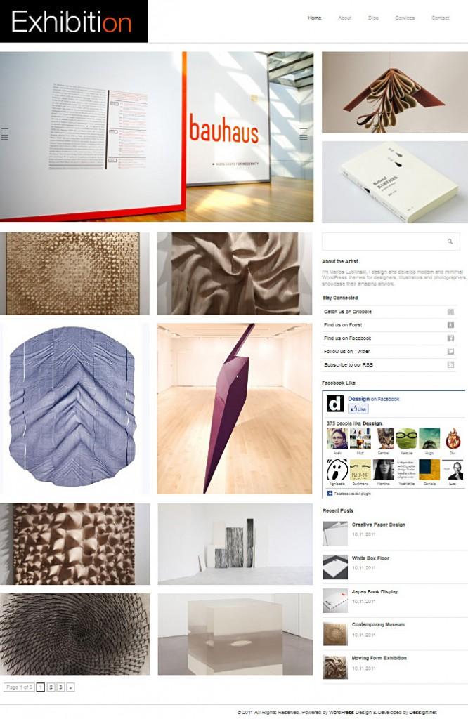 Free Grid Style WordPress Themes 43
