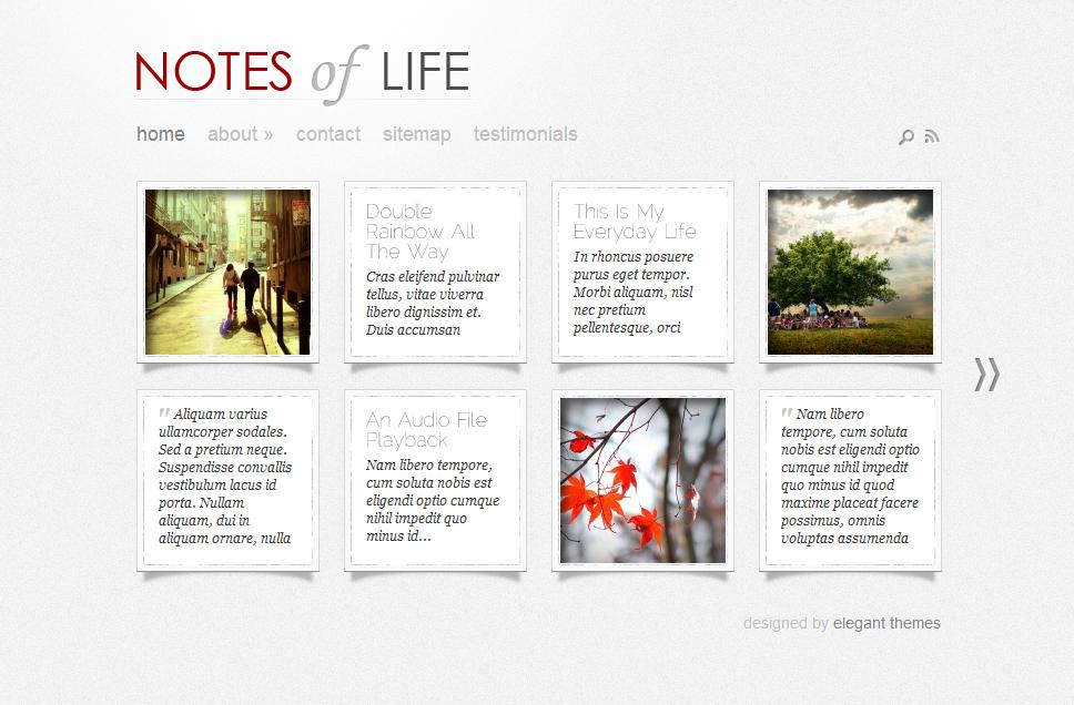 A Bunch of WordPress Pinterest Themes  6