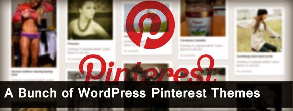 A Bunch of WordPress Pinterest Themes  1