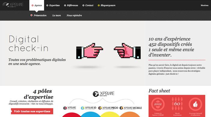 Showcase of Best Typography Web Design Inspiration 12