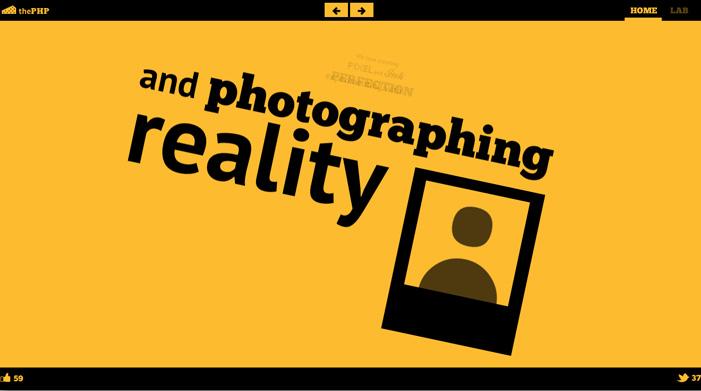 Showcase of Best Typography Web Design Inspiration 13