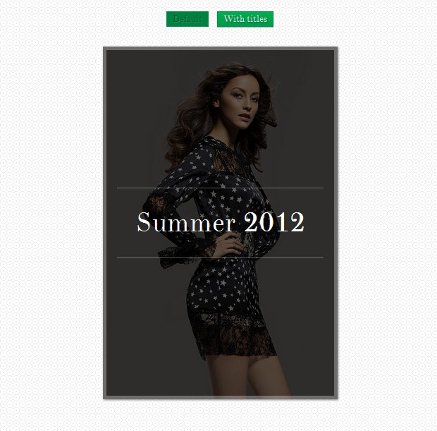 Tutorial To Create Hover Effects With CSS3 And jQuery 3