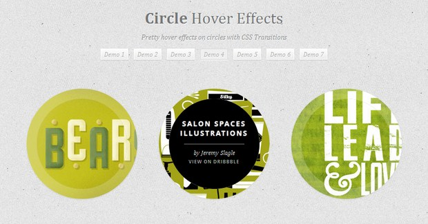 Tutorial To Create Hover Effects With CSS3 And jQuery 4