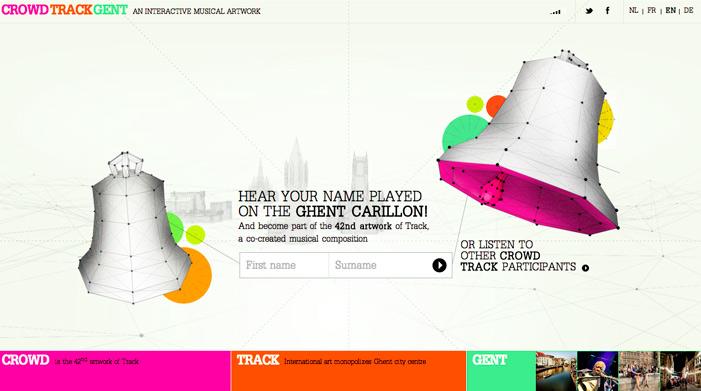 Showcase of Best Typography Web Design Inspiration 6