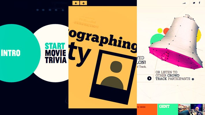 Typography Web Design Inspiration