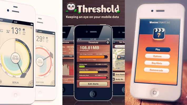 Showcase of Beautiful iPhone App / User Interface Design Inspiration  9
