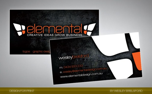 Beautiful Collection of Business Cards Design Inspiration 11