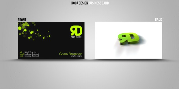 Beautiful Collection of Business Cards Design Inspiration 12
