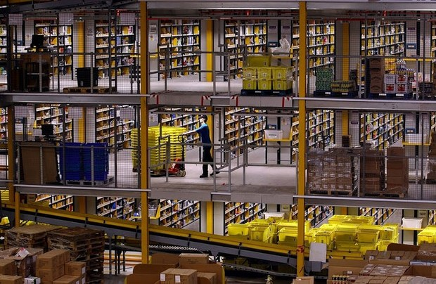 Inside Pictures of Amazon Warehouse 46