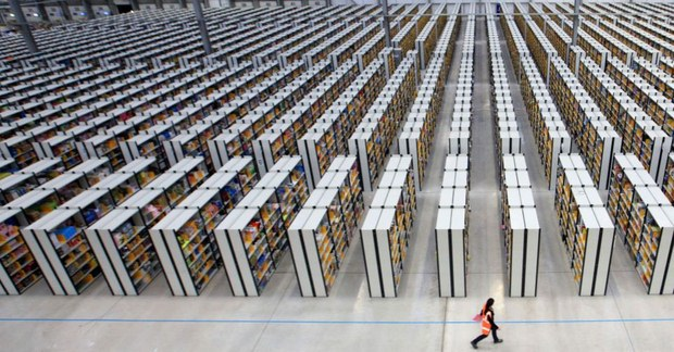 Inside Pictures of Amazon Warehouse 48