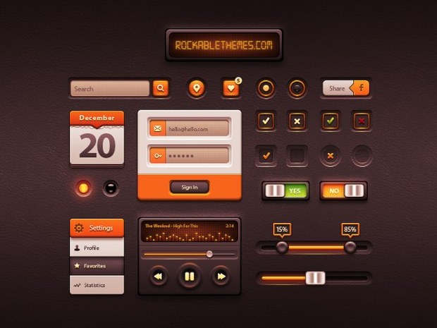 Friday Freebies – Free PSD Files For Designers 51