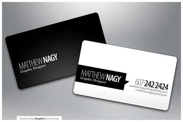 Beautiful Collection of Business Cards Design Inspiration 17