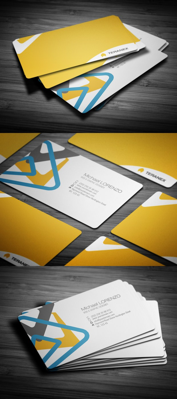 Beautiful Collection of Business Cards Design Inspiration 18