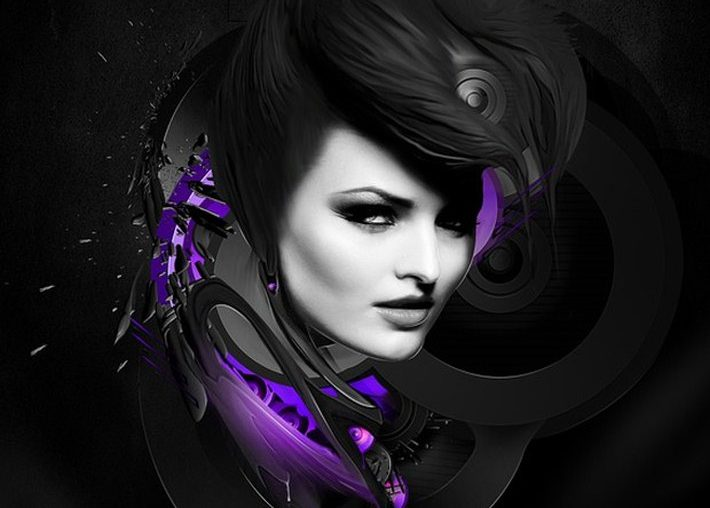 Creative Digital Artwork Design Inspiration 35