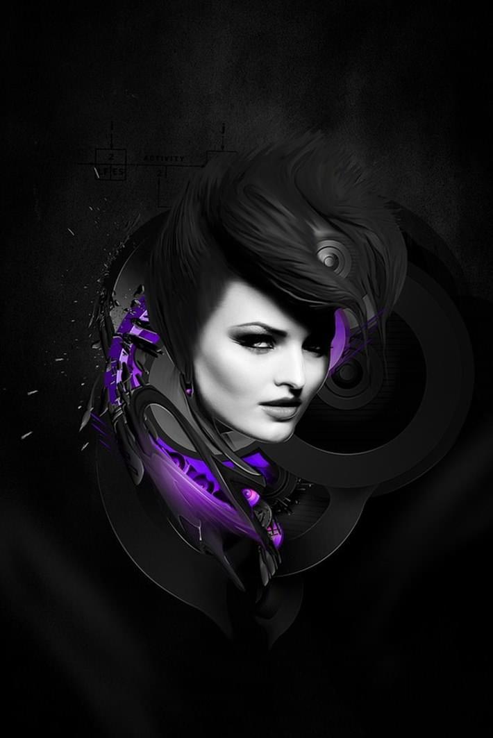 Creative Digital Artwork Design Inspiration 4