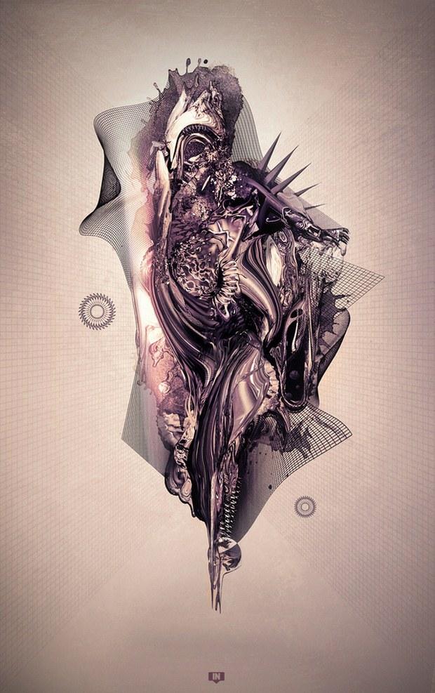 Creative Digital Artwork Design Inspiration 60