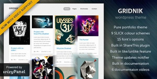 10 Premium Pinterest Inspired WordPress Themes 4