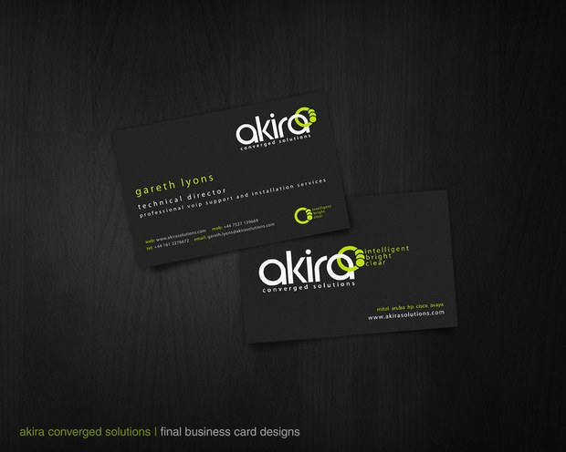Beautiful Collection of Business Cards Design Inspiration 7