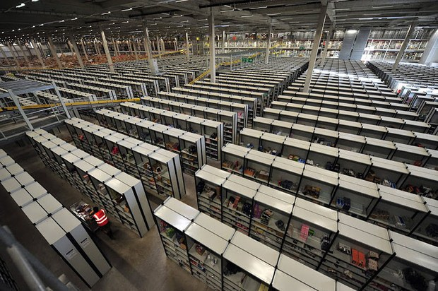 Inside Pictures of Amazon Warehouse 42