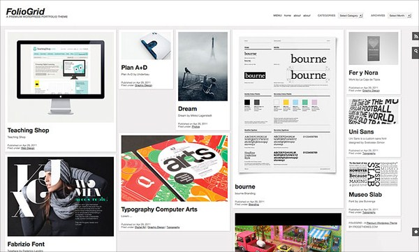 10 Premium Pinterest Inspired WordPress Themes 8