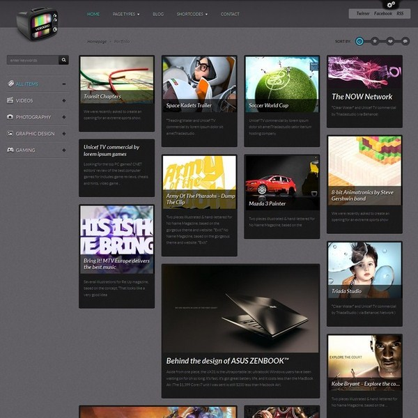 10 Premium Pinterest Inspired WordPress Themes 9