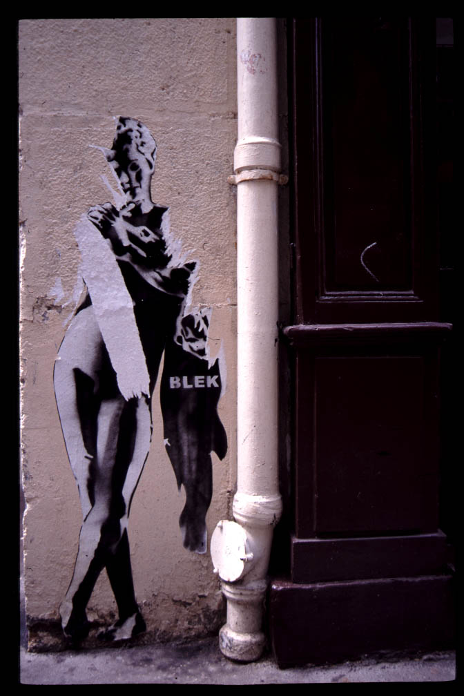 Curious Street Art From The Streets of Paris 9