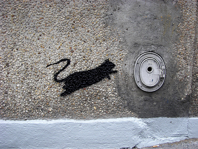 Curious Street Art From The Streets of Paris 10