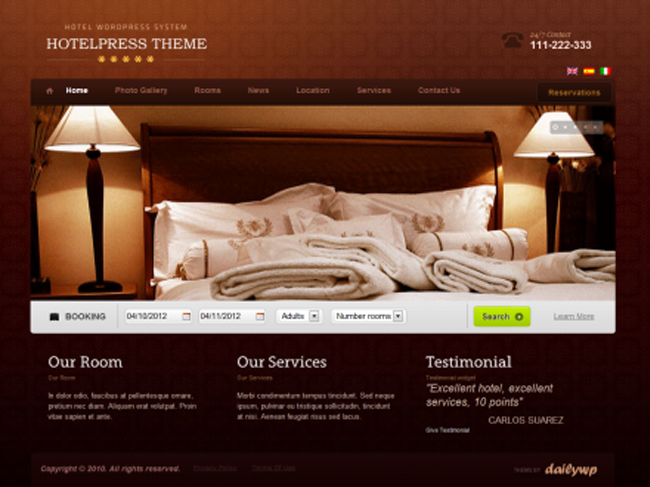 Best Hotel Booking Extensions & Themes 44