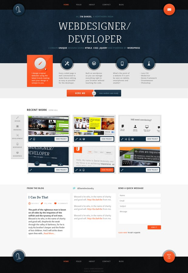 Web design inspiration 17 for Web page architecture