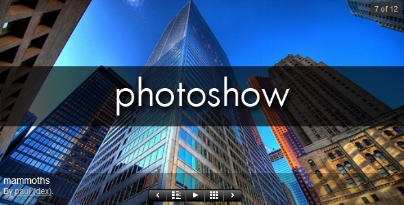 PhotoShow for WordPress Gallery Plugin