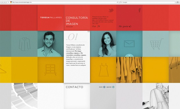 Web Design Inspiration 12