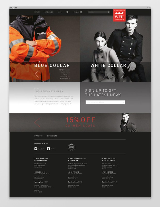 Web Design Inspiration 16
