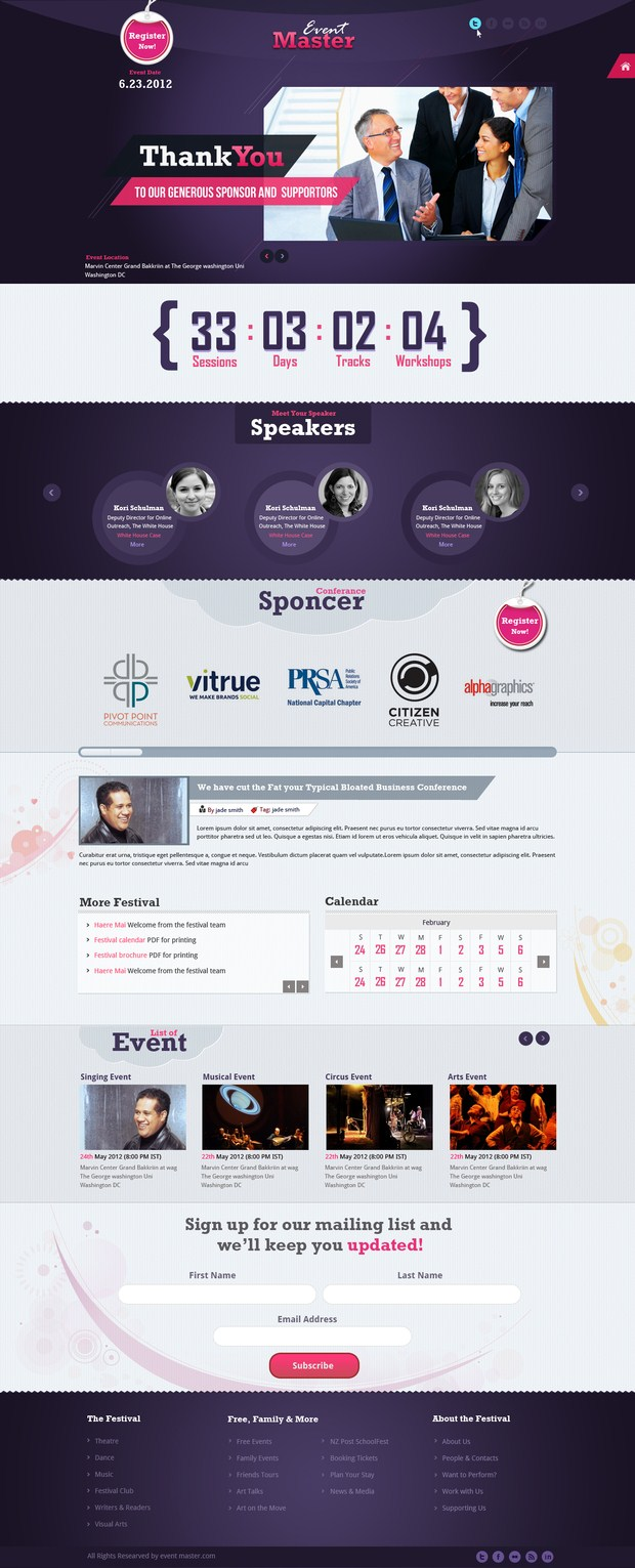 Web Design Inspiration 32