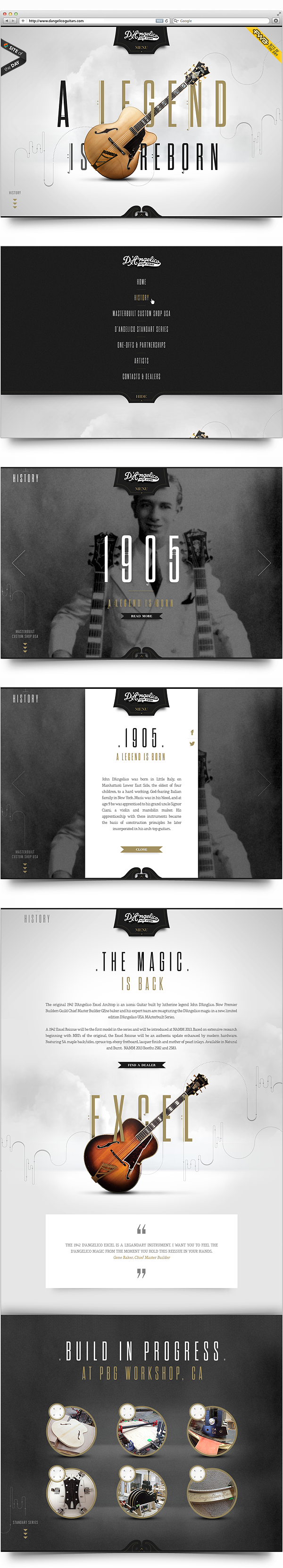 Weekly Web Design Inspiration 06