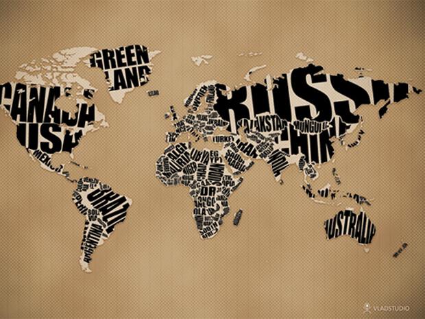 typographicworldmap