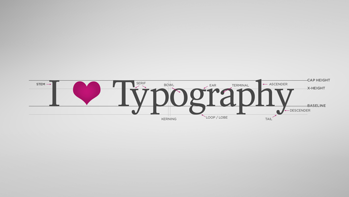 Introduction to Typography infographic 1