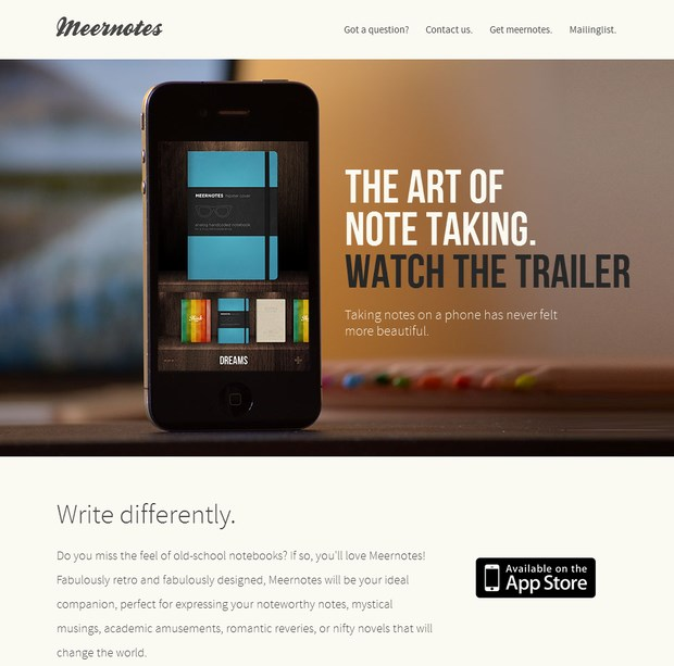 app web design inspiration