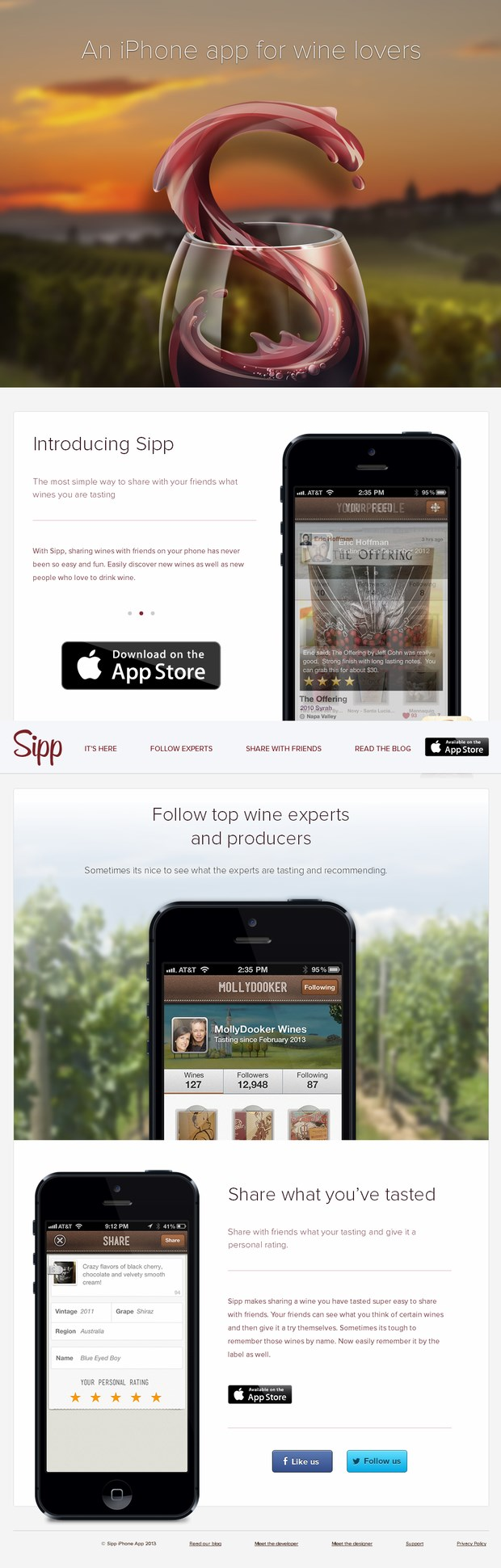 mobile web design inspiration