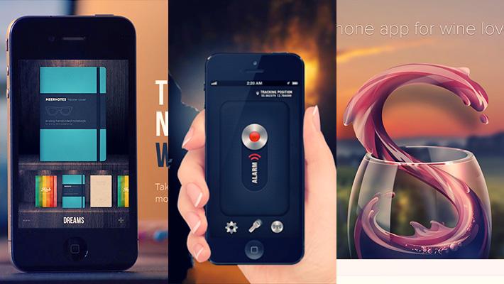 15 iPhone App Web Design for Inspiration 1