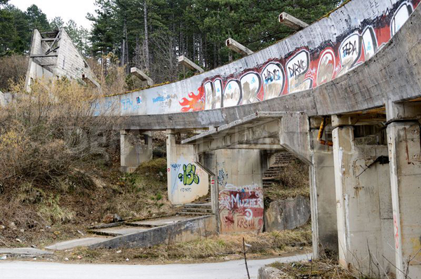 1984 Winter Olympics Bobsleigh Track