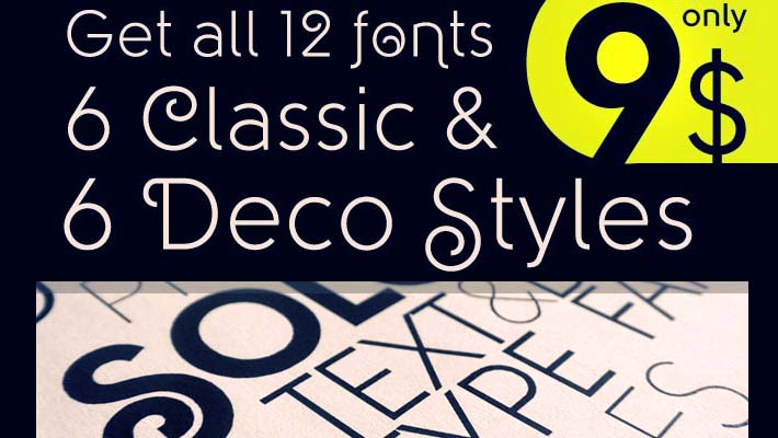 Deal of The Week: Beautiful Solomon Font Family 1