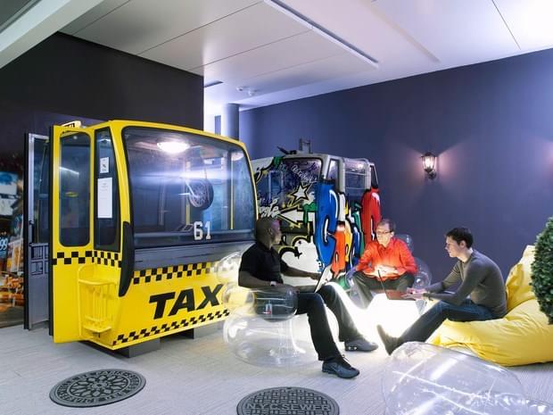 Downgraf - Imaginative Google Office of Zurich(14)