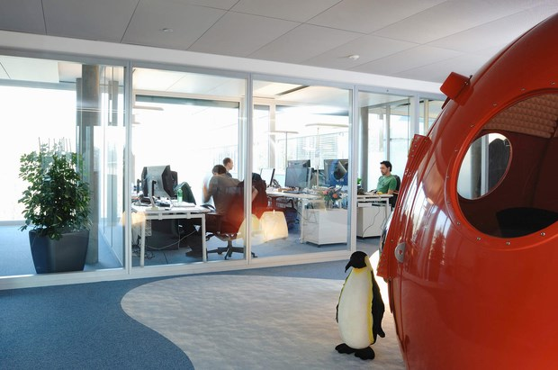 Downgraf - Imaginative Google Office of Zurich(15)