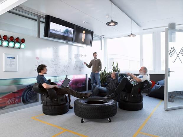Downgraf - Imaginative Google Office of Zurich(23)